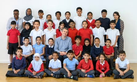 The year 3 class at Mayflower primary school in Tower Hamlets