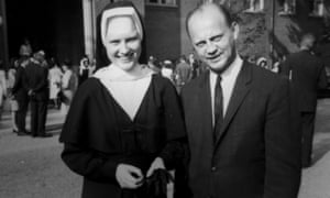 Sister Cathy Cesnik with her father, Joseph.