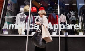 American Apparel has filed for bankruptcy pending court approval.