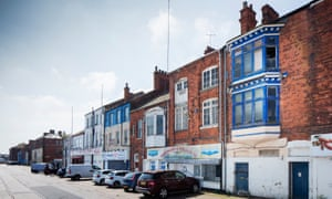 The Kasbah conservation area in Grimsby, which is among places added to England's national list of threatened heritage