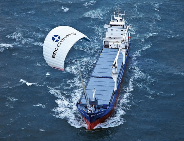 Spinning sail' rebooted to cut fuel and make ocean tankers