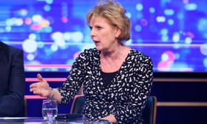 Anna Soubry appears on ITV's Peston show