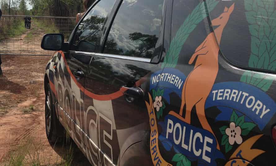 Police car Northern Territory