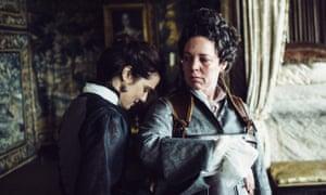 Regal cinema … Rachel Weisz and Olivia Colman in The Favourite.