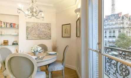 Paris Perfect's Volnay apartment.