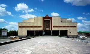 'Everything feels deserted and half dead' … Savitsky Museum in Nukus, Uzbekistan.
