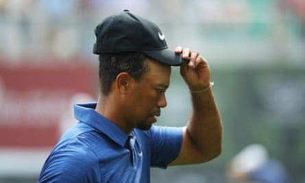 Injury and personal problems seemed to leave Tiger Woods a spent force by 2017