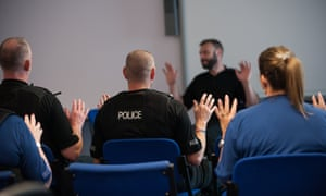 PC Ewen Sim sees mindfulness training as a 'strengthener' for colleagues who face a daily threat of assault.