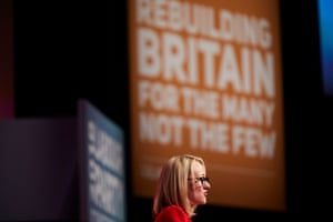 Rebecca Long-Bailey, MP for Salford & Eccles, and shadow secretary for business energy and industrial strategy. She announced a five point plan to save Britain's high streets including free wifi.