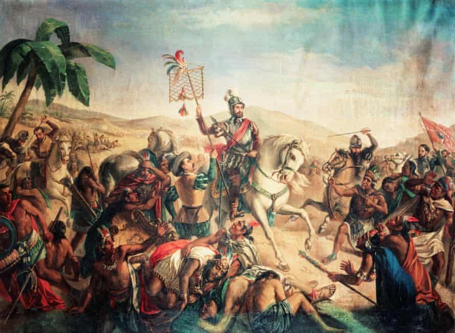 Ο Τλατστσαλάν συμμάχησε με τον Ερνάν Κορτές για την ανατροπή της αυτοκρατορίας των Αζτέκων το 1520.