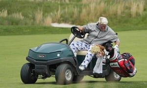 John Daly was allowed to use a buggy during the US PGA Championship. Not everyone was happy.