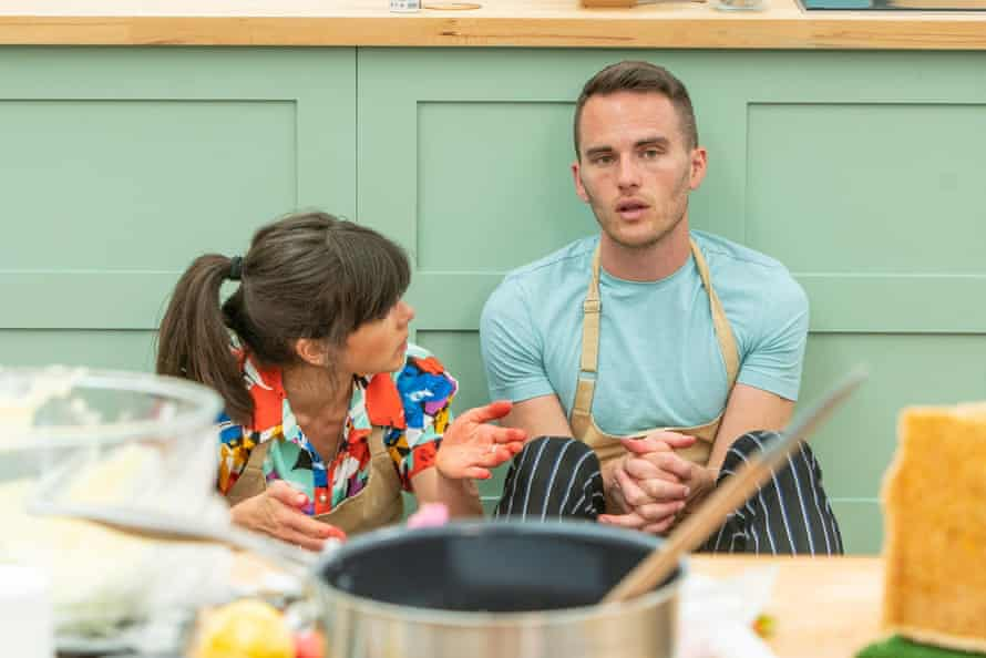 With Steph Blackwell in the GBBO final.