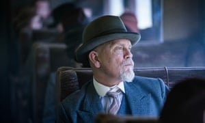John Malkovich as Hercule Poirot in The ABC Murders. Mammoth Screen/BBC