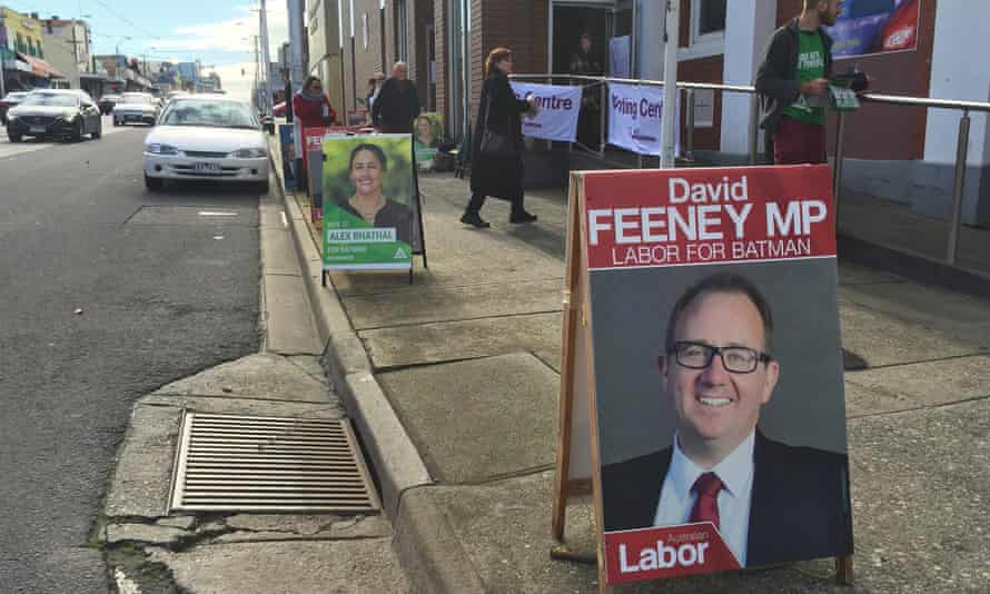 David Feeney poster in the Melbourne electorate of Batman in 2016.