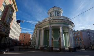 Annenkirche, St Petersburg July 2018. Church