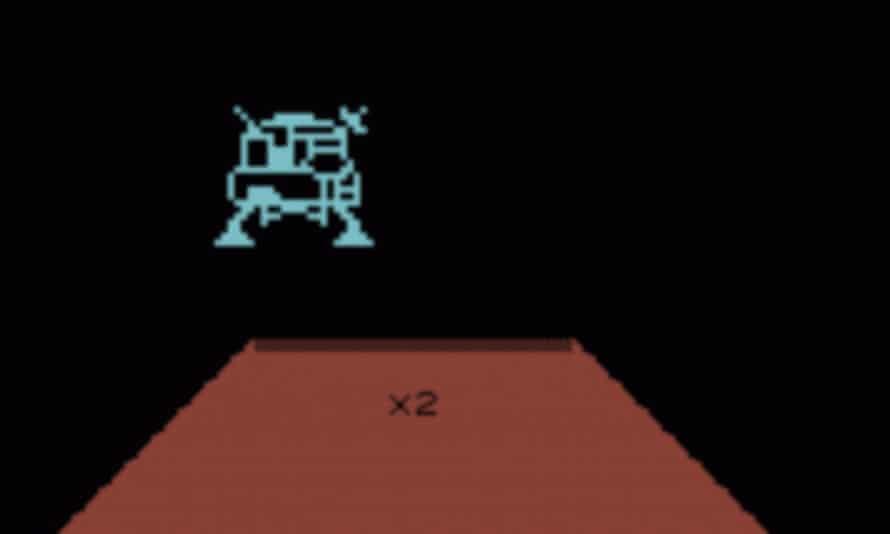 Deft joystick control ... Jupiter Lander.
