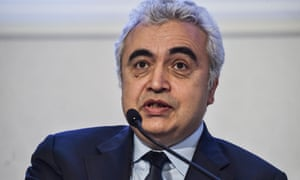 Fatih Birol says carbon capture, utilisation and storage projects are vital.