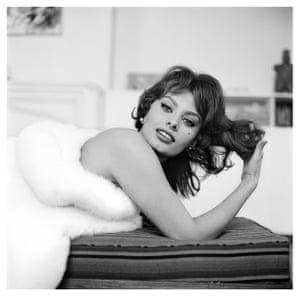 Sophia Loren in New York, 1959
