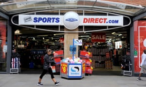 A Sports Direct shop in Wiltshire