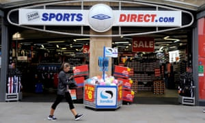 A Sports Direct outlet in Swindon, Wiltshire.