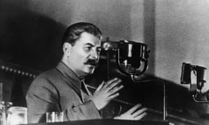 Stalin reports to the All-Russian Congress of Soviets on the draft constitution of the USSR in 1936