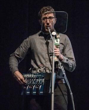 Sound effects … Lawrence Abu Hamdan presents 'ear witness' findings.