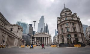The City of London during lockdown, 30 March 2020