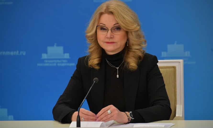 The Russian deputy prime minister, Tatiana Golikova, said 81% of the increase in mortality from January to November was down to Covid-19.