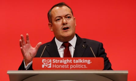 Michael Dugher, who was axed from the shadow cabinet.