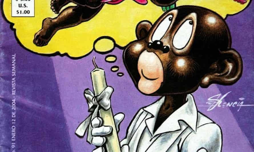 Racist Mexican cartoon