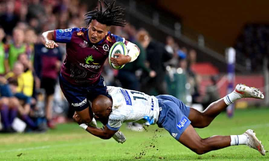 Reds v Blues, super rugby