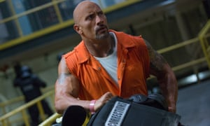 The Rock in Fast & Furious 8.