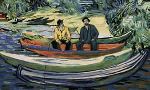 Meticulously rendered … Loving Vincent