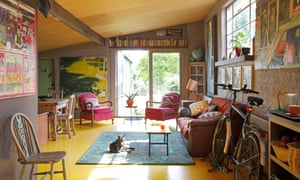 Trevor Burgess's South London home