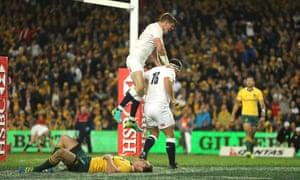 England's Owen Farrell