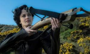 Eva Green in Tim Burton's new film Miss Peregrine's Home for Peculiar Children.