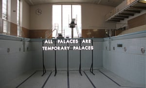 All Palaces installation, in club-slash-swimming pool Stattbad Wedding in Berlin, from 2012.
