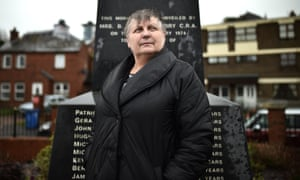 Jean Hegarty, whose brother Kevin McElhinney was killed aged 17, works at the Museum of Free Derry.