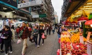Fa Yuen Street Market, Hong Kong.