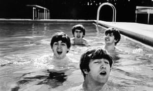 The Beatles in Florida in 1964.
