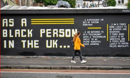 Street art in Stokes Croft, Bristol, this weekend.