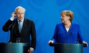 They have Angela Merkel, the UK has Boris Johnson ...