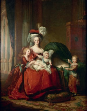 Le Brun's portrait entitled Marie-Antoinette and her Children (1787).