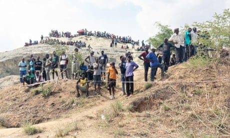 Dozens feared dead in Zimbabwe mine collapse as rescue efforts continue