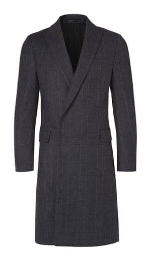 check grey coat
