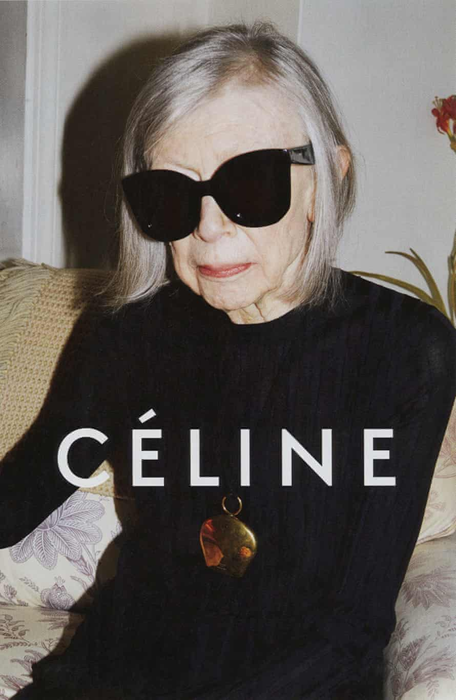 Joan Didion in the Celine campaign for 2015