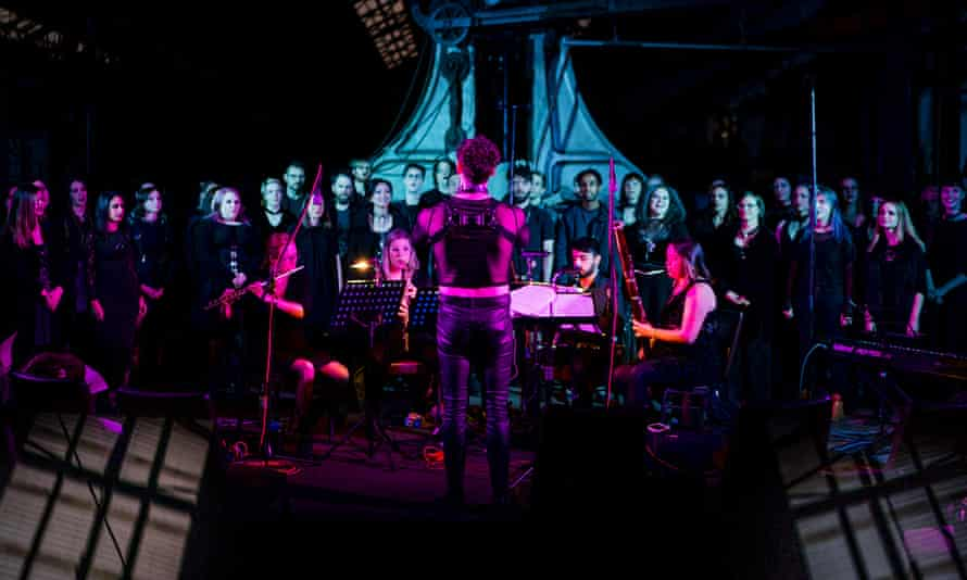 Sydney's Polyphony choir performing in 2019, before the pandemic.