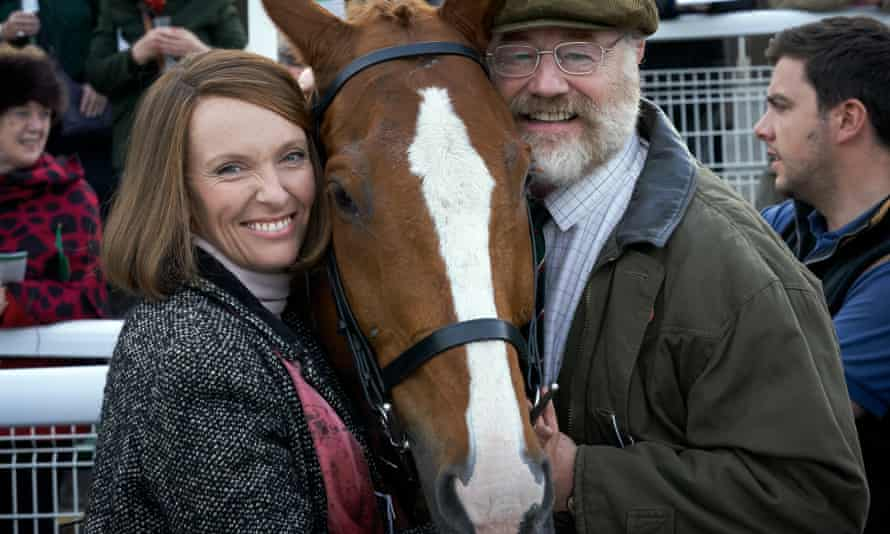 Toni Collette and Owen Teale in Dream Horse.