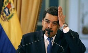 President Nicolás Maduro.