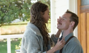 Michael Fassbender with partner Alicia Vikander In The Light Between Oceans